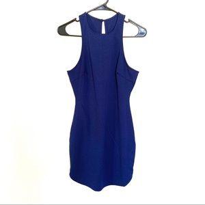 Dainty Hooligan Dark Blue Sleeveless Mini Dress M